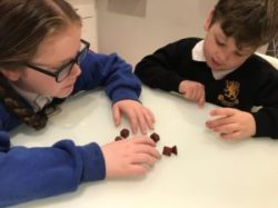 Photo of children sorting shapes