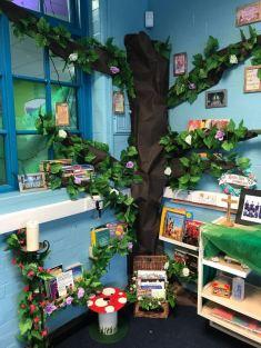 Abbey Catholic Primary school book corner