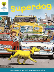 superdog oxford reading tree cover