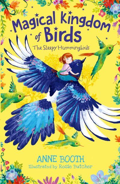 Magical Kingdom of Birds: The Sleepy Hummingbirds book jacket