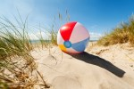 Beach ball Summer reading blog
