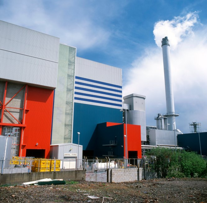 my-sustainable-cuppa-blogpost, Photo of Tyseley Energy from Waste Plant, Birmingham.