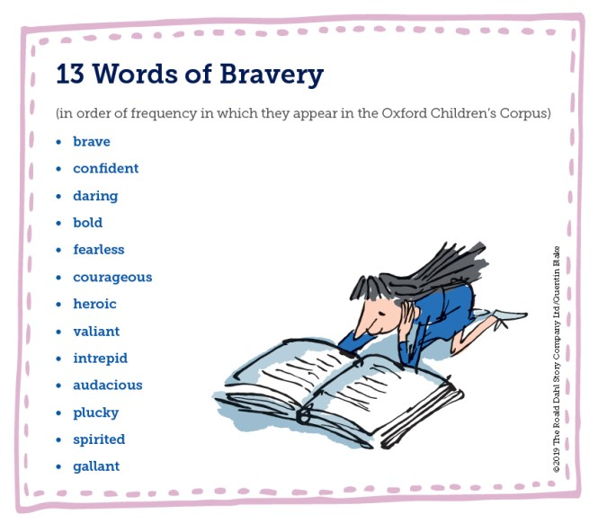 13 Words of Bravery