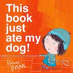 Cover of This book just ate my dog!