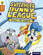 Superhero Bunny League cover