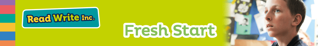 Read Write Inc. Fresh Start