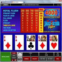 Video Poker Spiele online