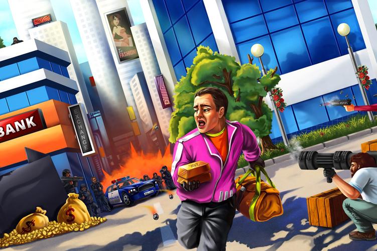 Das interaktive Stadtspiel