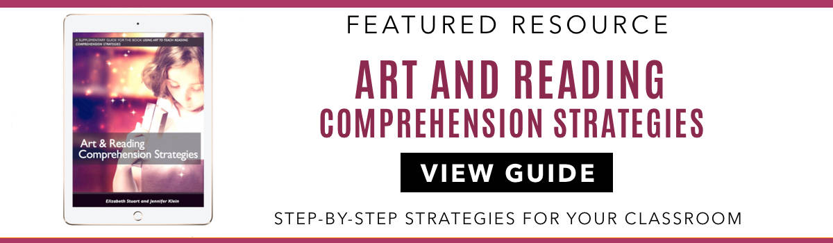 ART AND READING STRATEGIES BANNER