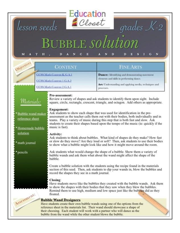 bubble solution