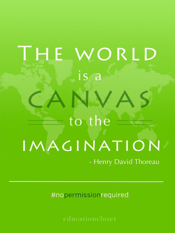 world is a canvas