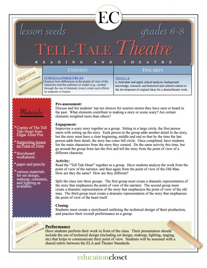 tell tale theater