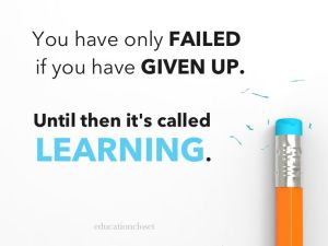 failure and learning