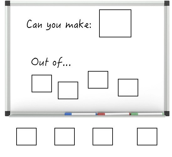 Can You Make It: An Arts and Math Strategy