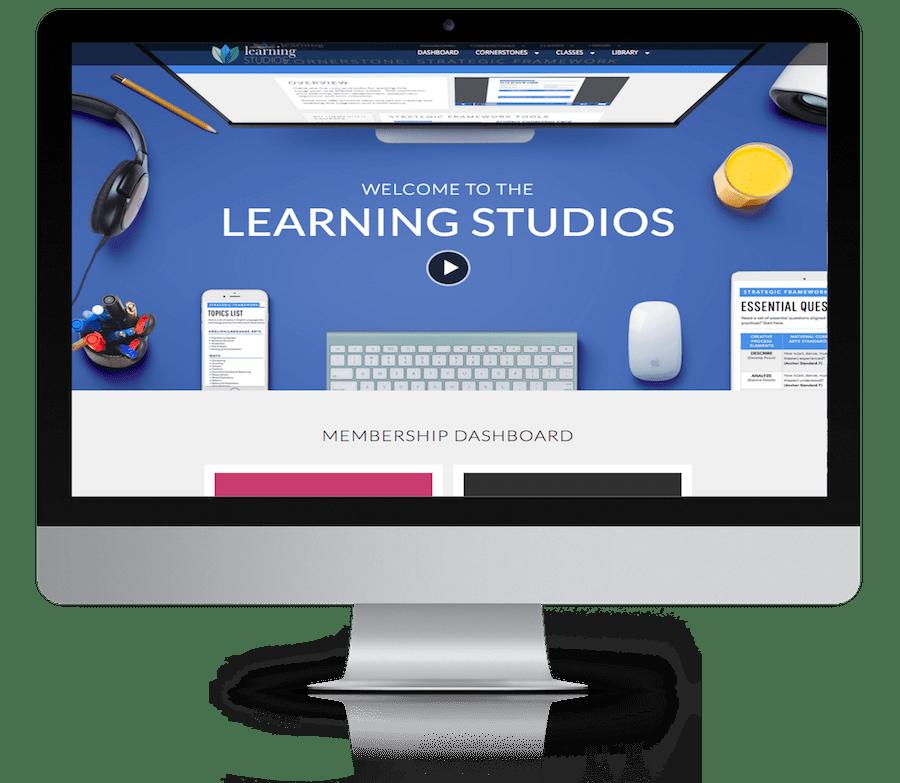 learning studios desktop