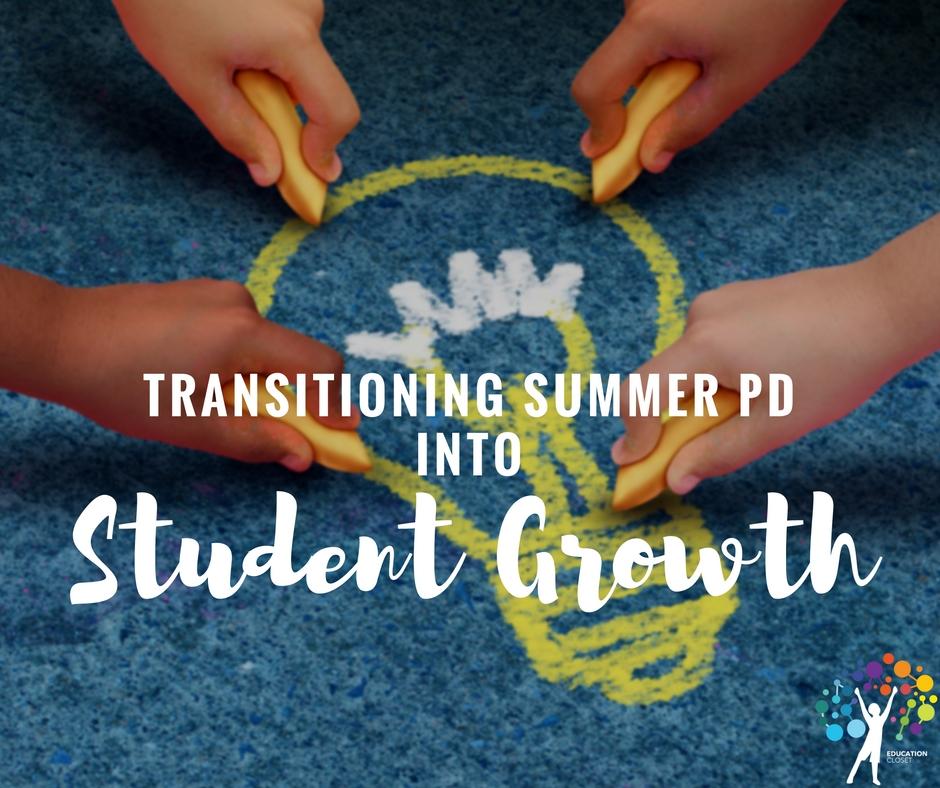 Transitioning Summer PDinto