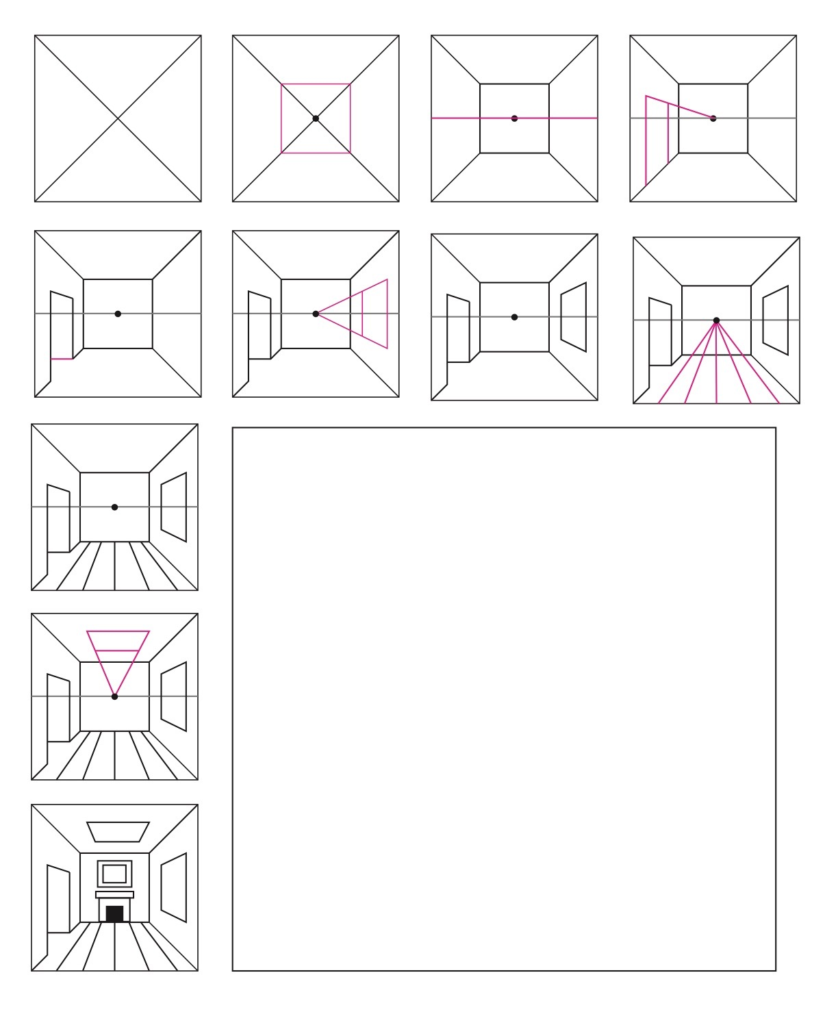 3 Ways To Teach 1 Point Perspective