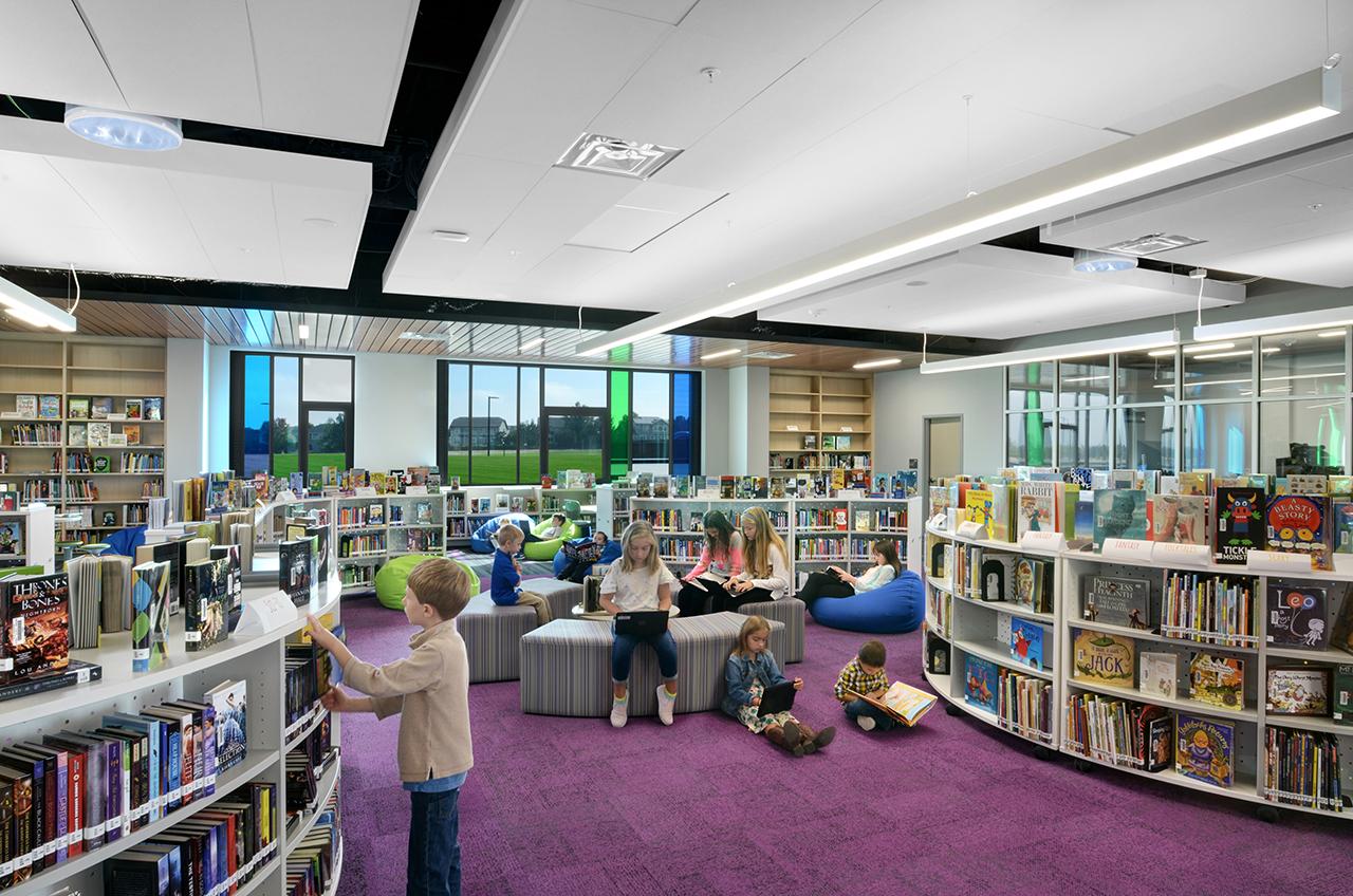 School Building Design for Meadowlark School, Boulder Valley, Colorado by Fielding Nair International