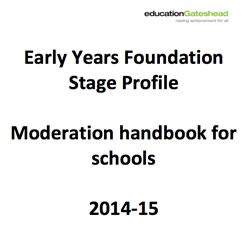 EYFS Handbook 2014-2015