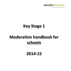 KS1 Moderation Handbook