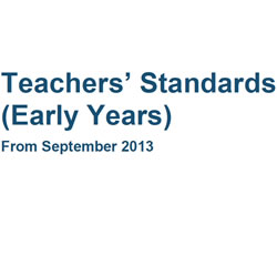 Teachers' Standards (Early Years)