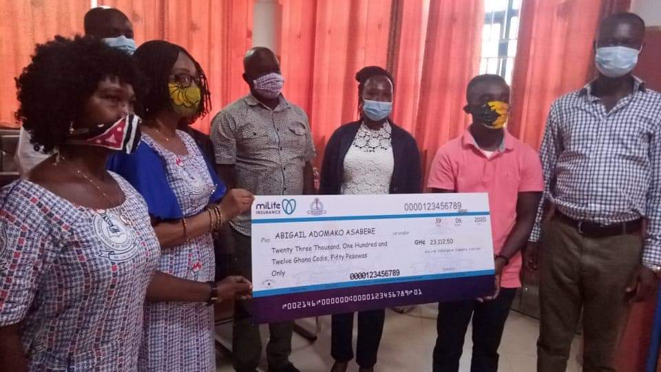 JUST IN: GNAT supports Female Teacher with Ghc23,112.50 Cashback Plan for her Permanent Disability 1