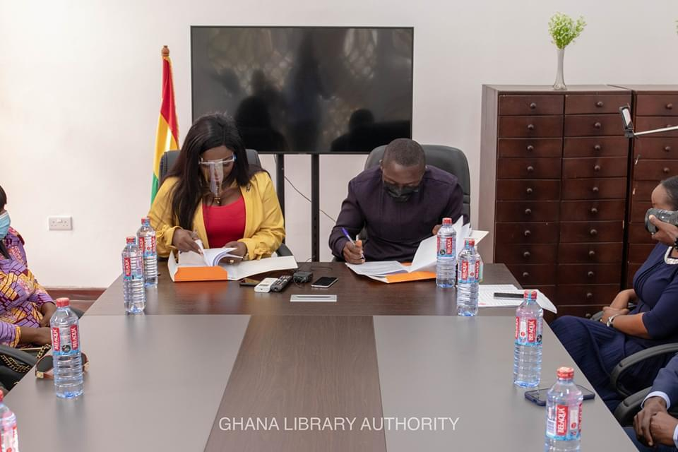 Ghana Library Authority unveils partnership with Stacy Amoateng 2