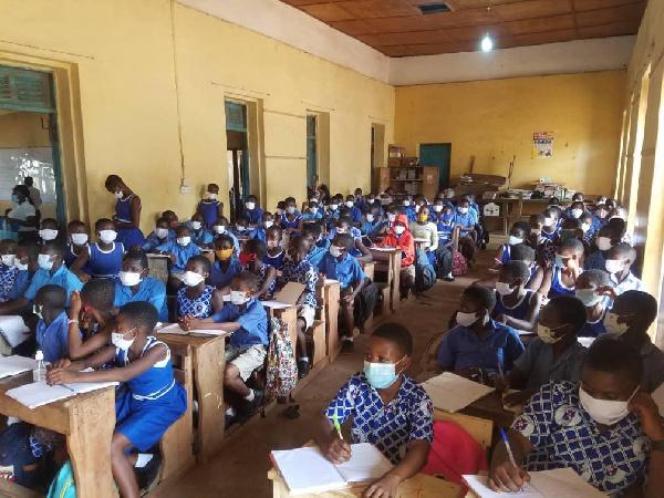 Cape Coast Presbyterian basic school cries for infrastructure