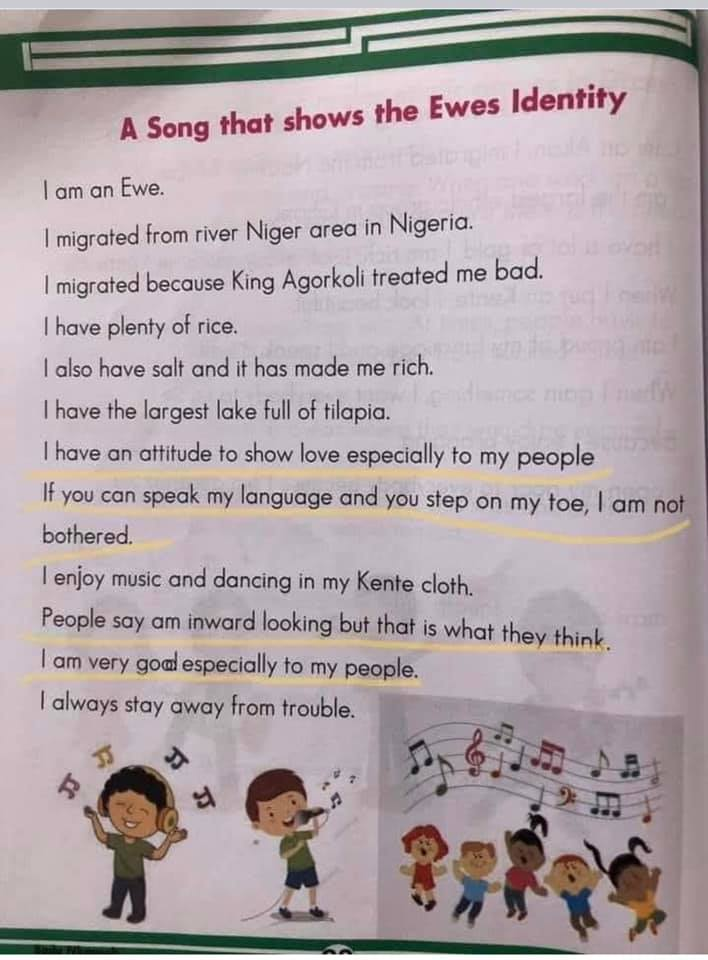 NaCCA approved books under attack for alleged bigoted publications against Ewe Ethnic Group 5