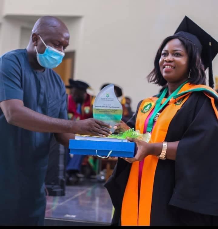 UHAS: Sally Banyih wins 1st John Evans Atta Mills Over All Best Student Award 4
