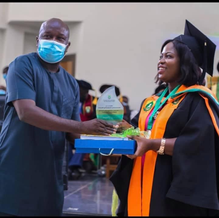 UHAS: Sally Banyih wins 1st John Evans Atta Mills Over All Best Student Award 5