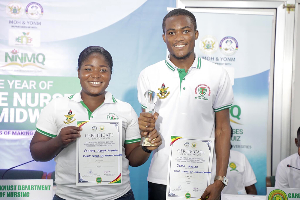 KNUST Wins 2021 National Nurses and Midwives Quiz