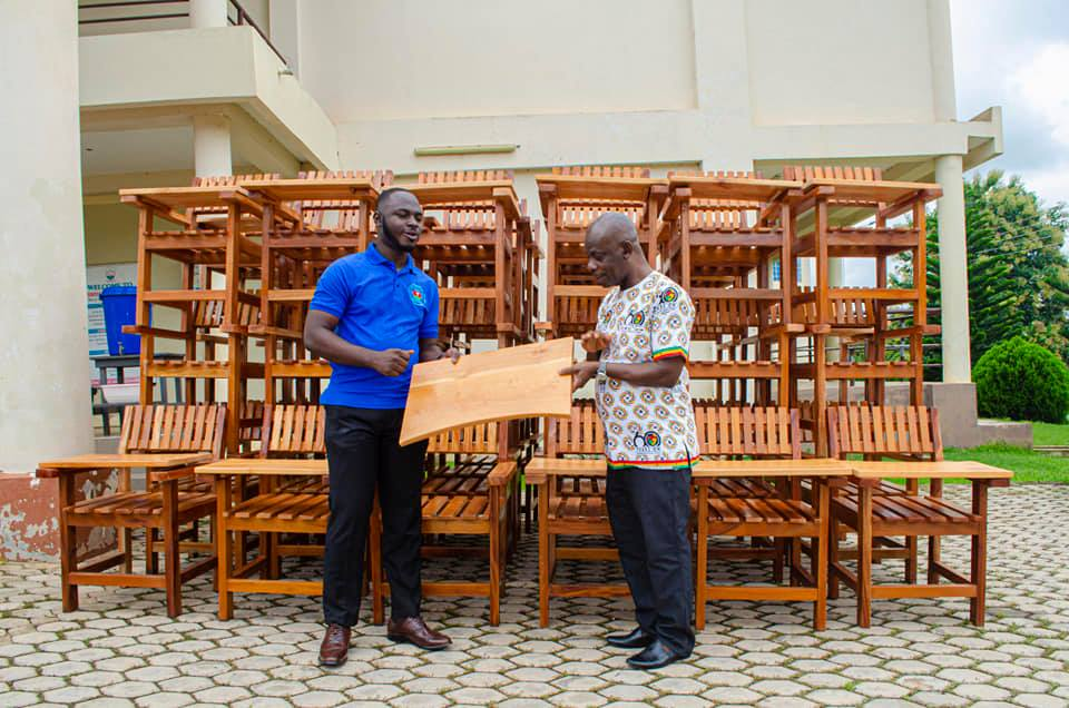Exclusive: 2019-2021 St Francis College SRC donates Classroom Furniture to College   5