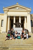 Group photo at the University of Havana.