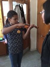 Bisschen klein die Geige, macht aber trotzdem Spaß.