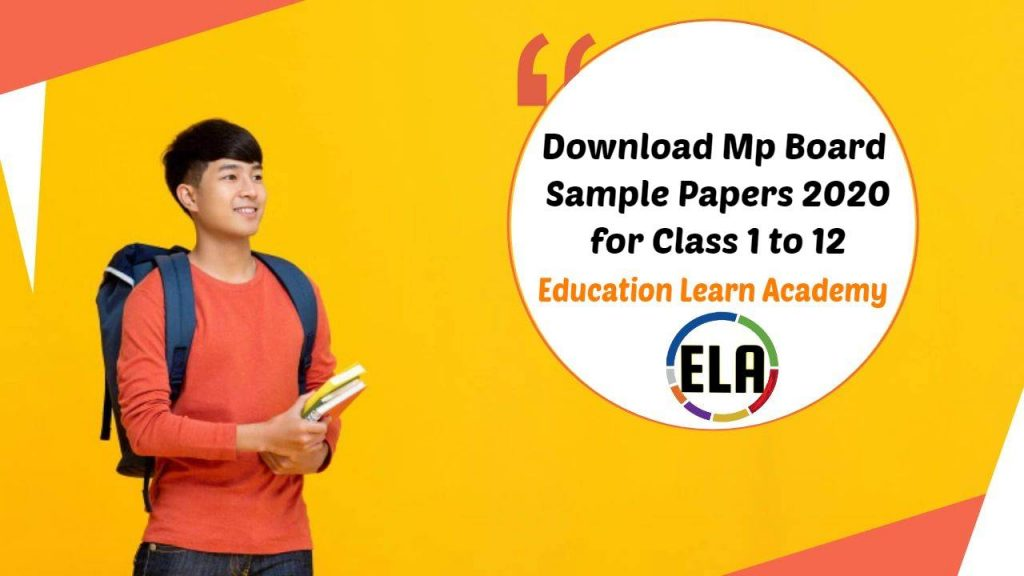 [PDF] Download Mp Board Sample Papers 2021 for Class 1 to 12