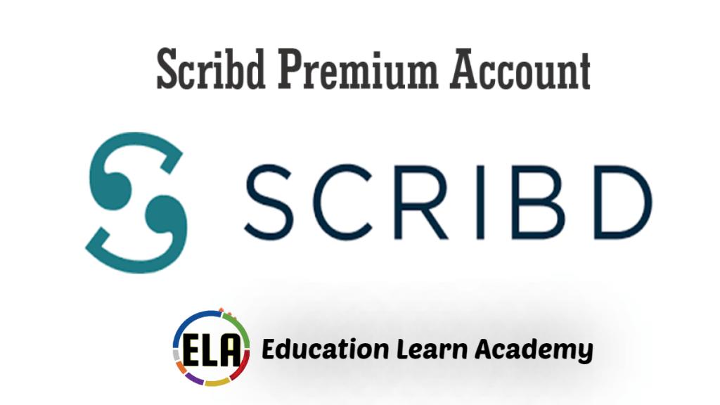 Scribd Premium Accounts