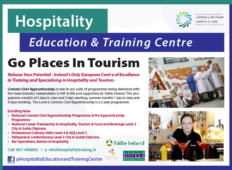 Hospitality Education & Training RG18.indd