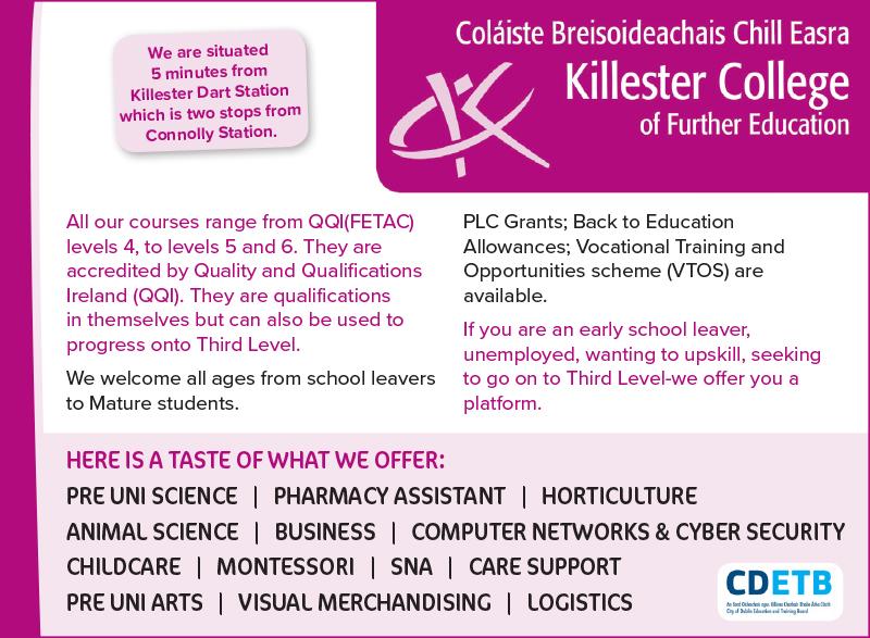 Killester College RG18.indd