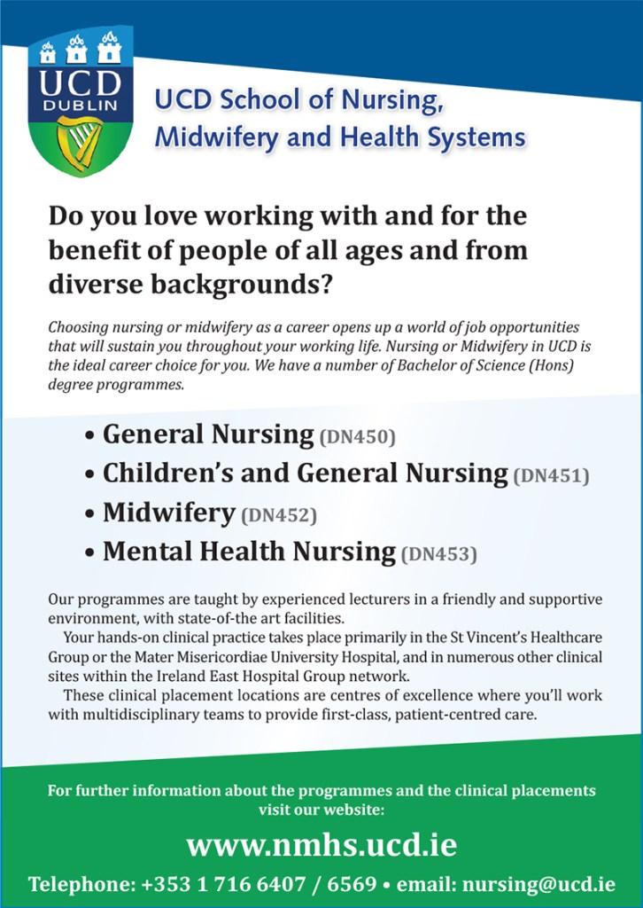 Nursing & Midwifery at UCD – Education Magazine