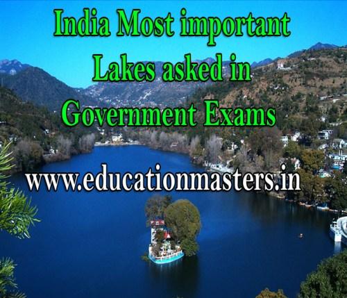 india lakes jheel gk in hindi