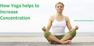 Yoga for increasing Concentration