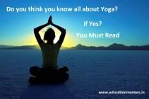 Yoga general knowledge