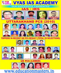 Vyas academy dehradun selection