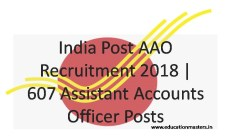 Indian Post recruitment 2018