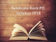 PO Syllabus 2018