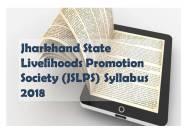 jslps syllabus 2018