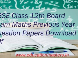 CBSE-Maths-Previous-Papers