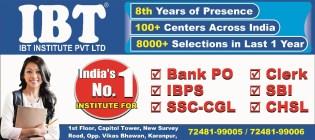 IBT Coaching Dehradun