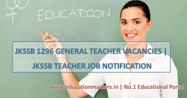 JKSSB 2018 notification